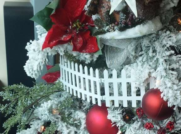 HOLIDAY CHEER AND A HOSPITAL ART SHOW