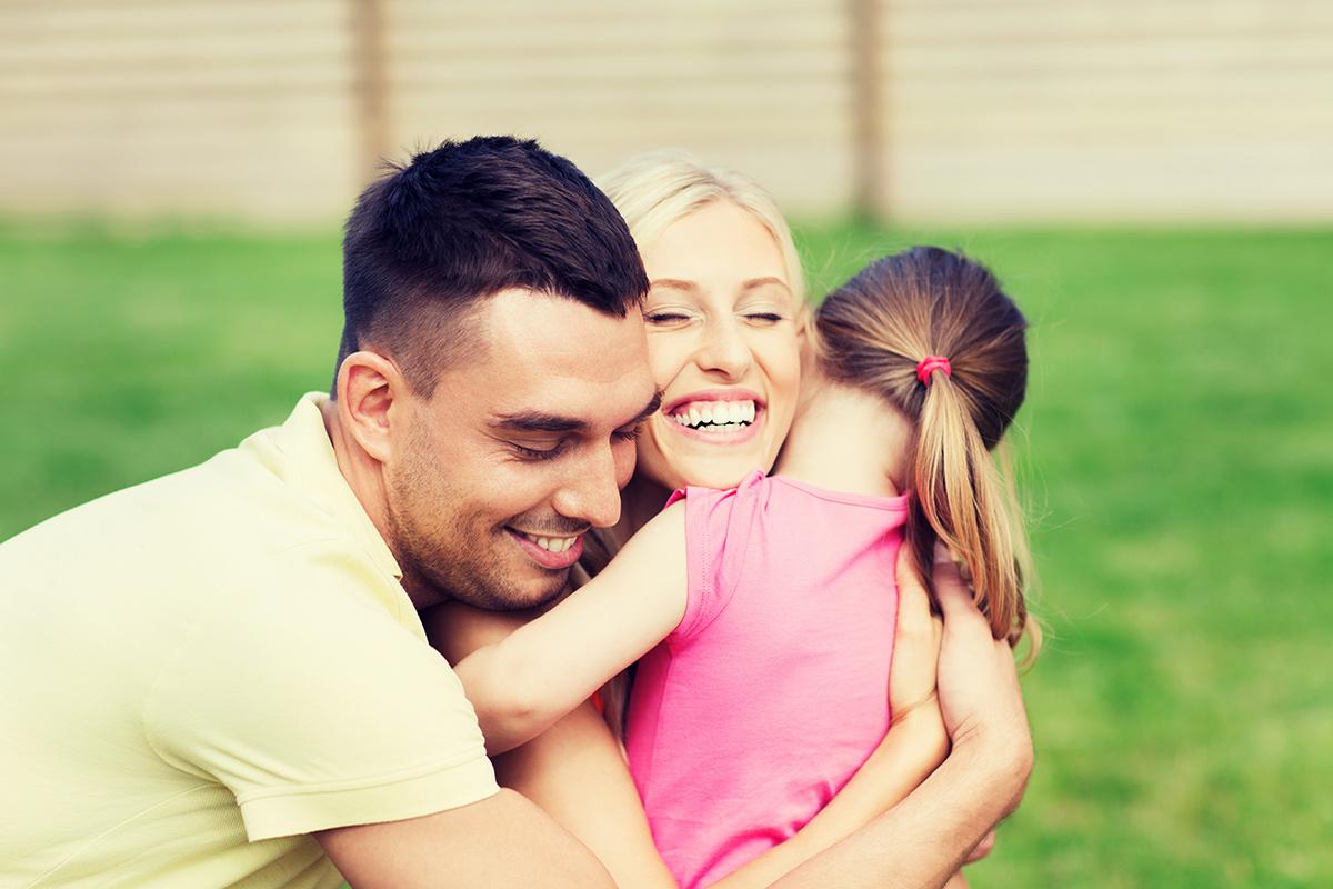 happy child adoption